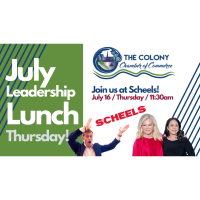 Leadership Lunch- July