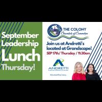 Leadership Lunch at Andretti's Karting-September