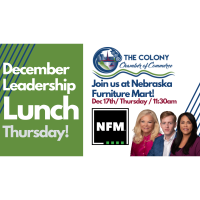 Leadership Lunch- December sponsored by NFM