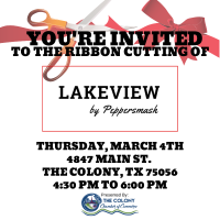 Ribbon Cutting Celebration for Lakeview By Peppersmash