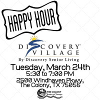 CANCELLED-Happy Hour at Discovery Village at Castle Hills