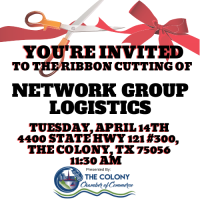 POSTPONED-Ribbon Cutting Celebration for Network Group Logistics
