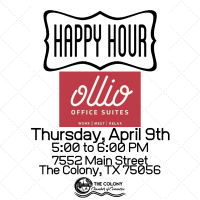 CANCELLED-Happy Hour at Ollio Office Suites