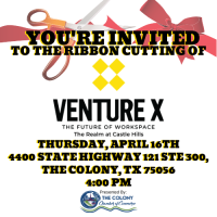 Ribbon Cutting & Grand Opening Celebration for Venture X- The Realm