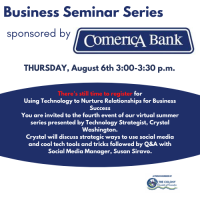 Business Seminar presented by Comerica Bank