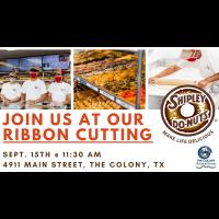 Ribbon Cutting- Shipleys Do-Nuts