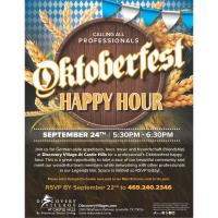 COMMUNITY EVENT HOSTED BY Discovery Village at Castle Hills-  OKTOBERFEST