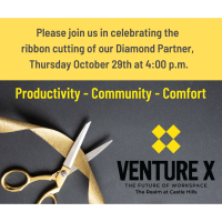 Venture X Castle Hills Grand Opening Celebration and Ribbon Cutting!