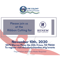 Ribbon Cutting and Open House for Renew Family Dentistry