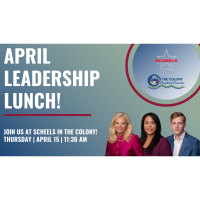Leadership Lunch April hosted and presented by SCHEELS