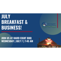 Business & Breakfast for July hosted by Hard Eight BBQ