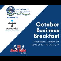 Business Breakfast October