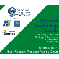 Leadership Lunch October