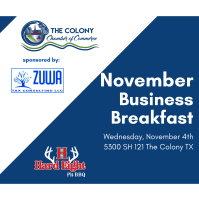 Business Breakfast November hosted by Hard Eight BBQ