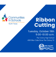 Ribbon Cutting for Communities in Schools