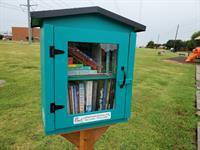 The newest Little Free Library in The Colony