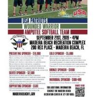 USA Patriots | Wounded Warrior Amputee Softball Game