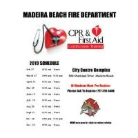 CPR Training   Madeira Beach