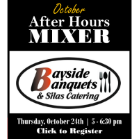 October After Hours Mixer | Bayside Banquets & Silas Catering