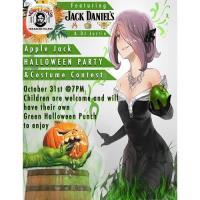 Sloppy Joe's Apple Jack Halloween Party & Costume Contest