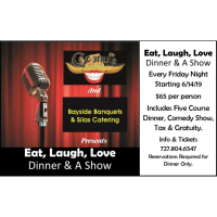 Eat, Laugh, Love Dinner & A Show