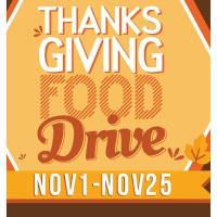 Caddy's Thanksgiving Canned Food Drive