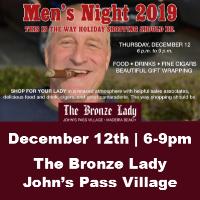 Bronze Lady Men's Night 2019