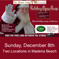 Bronze Lady Holiday Open House
