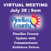 July 28th Virtual Meeting with County Commissioner Kathleen Peters