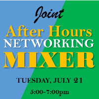 July 21st Virtual Joint After Hours Networking Mixer