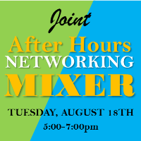 August 18th Virtual Joint After Hours Networking Mixer