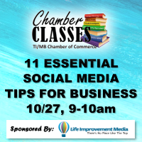 Virtual Chamber Class - 11 Essential Social Media Tips for Business
