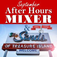 September After Hours Mixer & Ribbon Cutting at The Sands Treasure Island