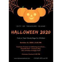 Halloween Costume Contest - Treasure Island