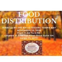 Holiday Food Drive - Miracle by the Bay