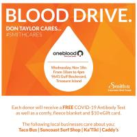 Blood Drive, Don Taylor Cares