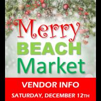 Vendor Registration - Merry Beach Market 2020