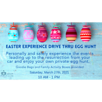 Easter Experience Drive Thru Egg Hunt - Church by the Sea