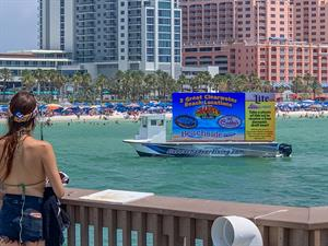 Florida Beach Advertising