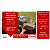 19th Annual Chamber Golf Tournament