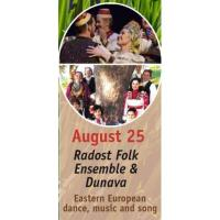 Peace Arch Concert Series: Radost Folk Ensemble and Dunava