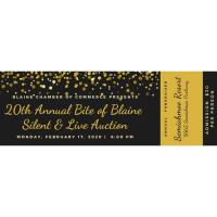 20th Annual Bite of Blaine & Silent Auction