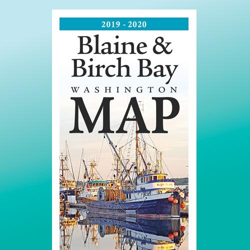 Blaine Birch Bay Regional Map