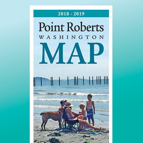 Point Roberts WA Regional Map