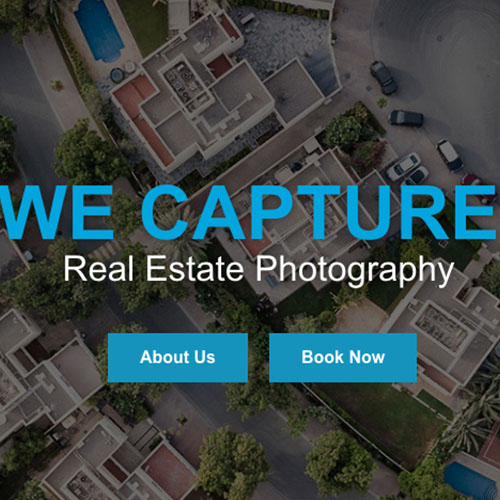 WEB DESIGN: We Capture Real Estate Photography