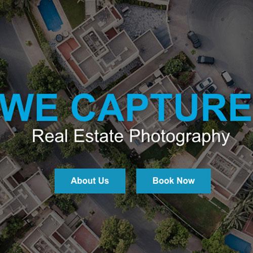 WEB DESIGN: We Capture Real Estate Photography