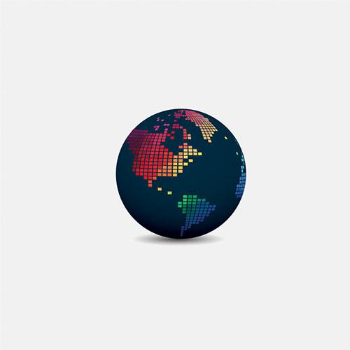 BRANDING: Globe Network Concept