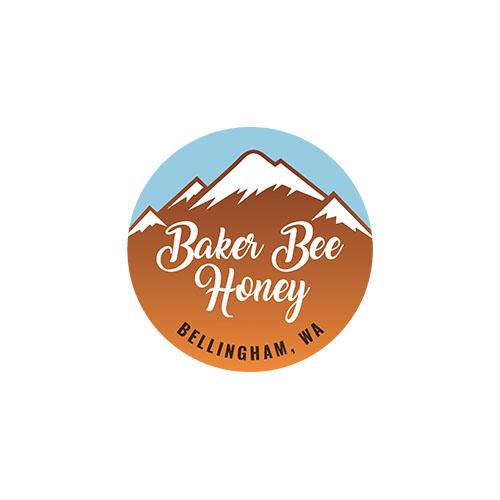 BRANDING: Baker Bee Honey Logo