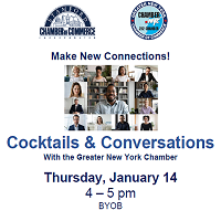 Coocktails with the Greater NYC Chamber