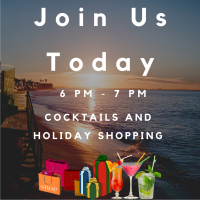Cocktails & Holiday Shopping!